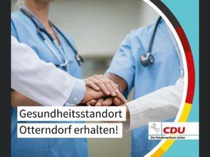 Sicherung der Zukunft des Krankenhauses Land Hadeln in Otterndorf ist oberstes politisches Ziel